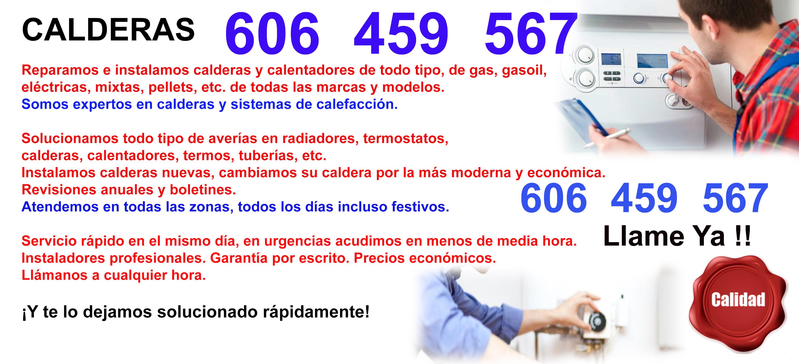 Reparaciones de Calderas 08003